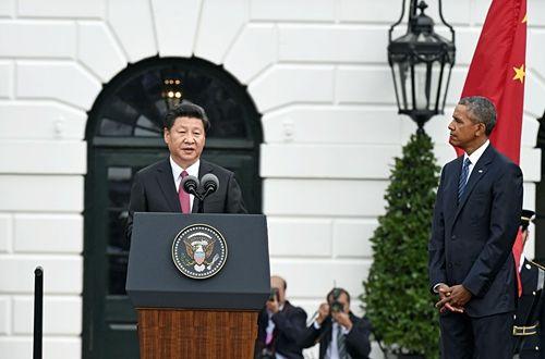 习近平会晤奥巴马