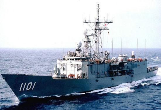 资料图:台湾成功级战舰。