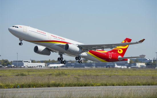 海南航空242吨A330-300