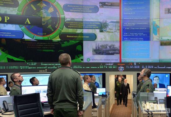 普京步入俄罗斯国防批示核心,切磋俄罗斯在叙利亚空袭步履