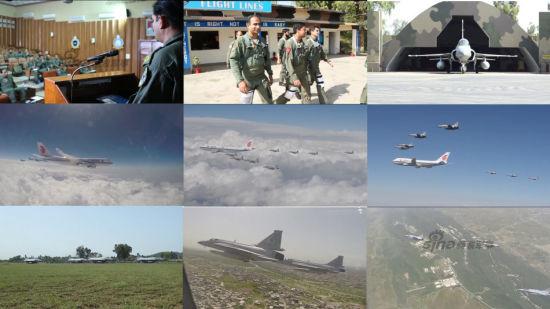 2015年4月20日,巴基斯坦军方公开了枭龙战机部队执行护航习主席专机任务全程画面。可看到飞行员从领取任务到着装、检查战机、编队起飞、空中组队到最后护航全程细节。