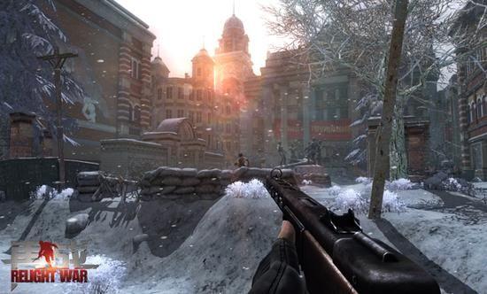 新浪军事免费发再战激活码:二战游戏电影级枪战