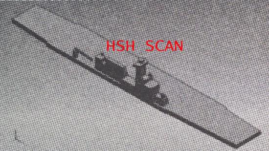 网上早期流传的中国直升机航母的疑似照片