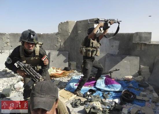 外媒:美国宣布向伊拉克派遣300名军事顾问