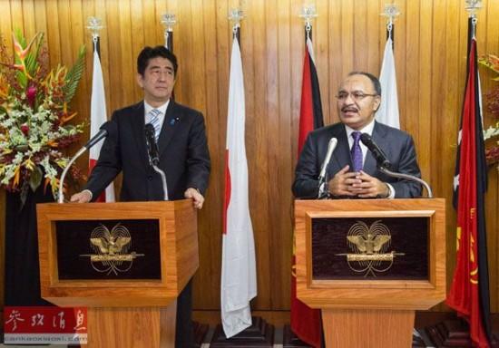 """日媒传日本巴西联合声明含""""制衡中国""""内容"""