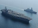 美英战舰强强联手