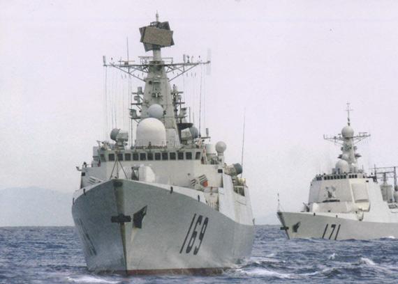 解析中国海军052B级导弹驱逐舰性能(组图)