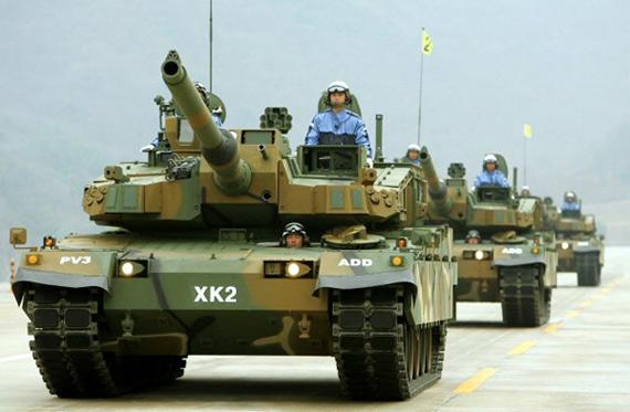 图文:韩国新型国产XK-2主战坦克