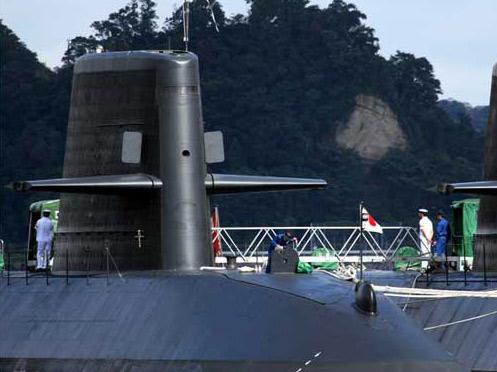图文:日本08年国防预算将为海自购买一艘新型潜艇