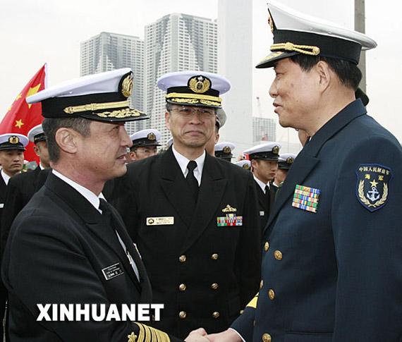 南海舰队副司令员肖新年少将揭秘深圳舰访日