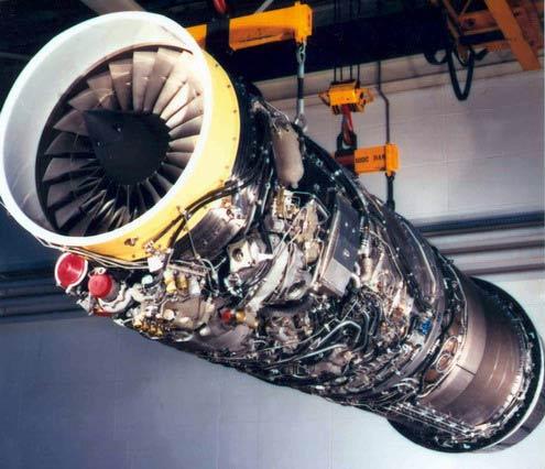 法国斯耐克玛公司m53轮风扇航空发动机