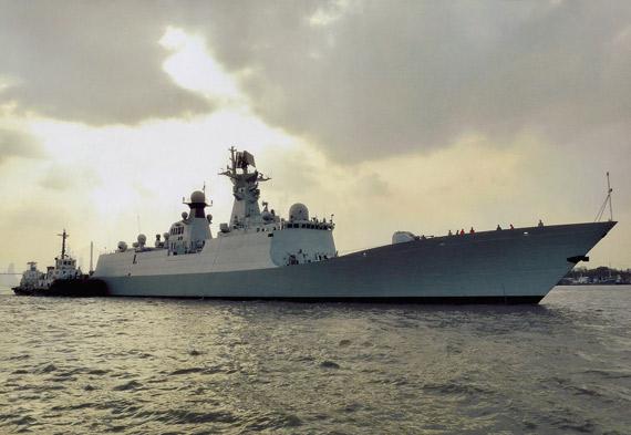 中国印度最新型隐身导弹护卫舰战力对比(组图)