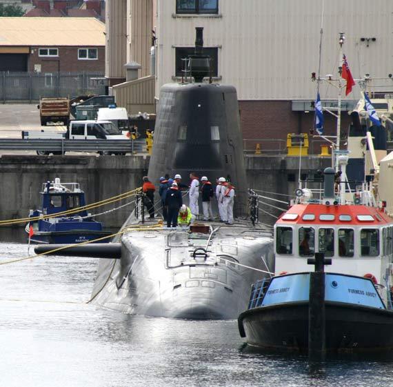 英国新机敏号潜艇首次海试即出现故障返厂大修