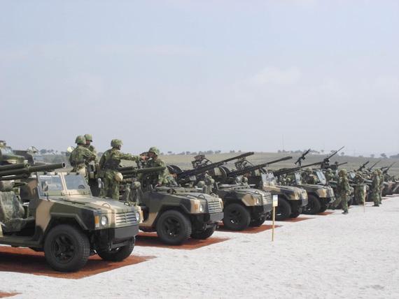 中国空降部队重型武器装备