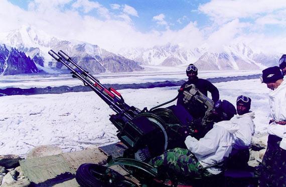 印度组建两支新型山地师对付中国巴基斯坦(图)