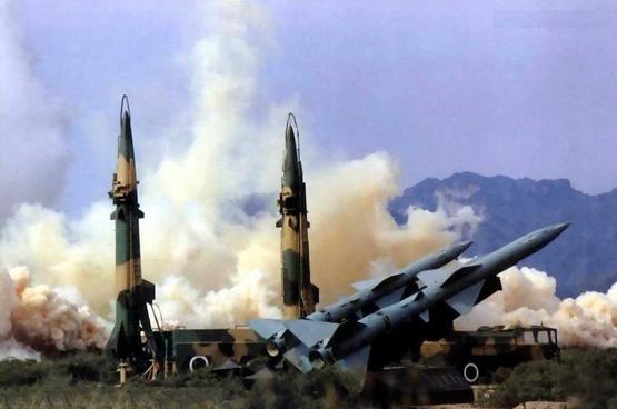 图文:解放军第二炮兵导弹发射阵地