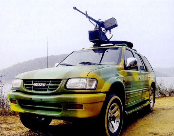 中国推出外贸型M98火力突击车主销非洲东南亚