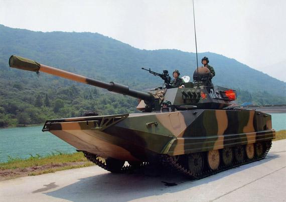 中国推出最新型03P水陆坦克进军国际武器市场