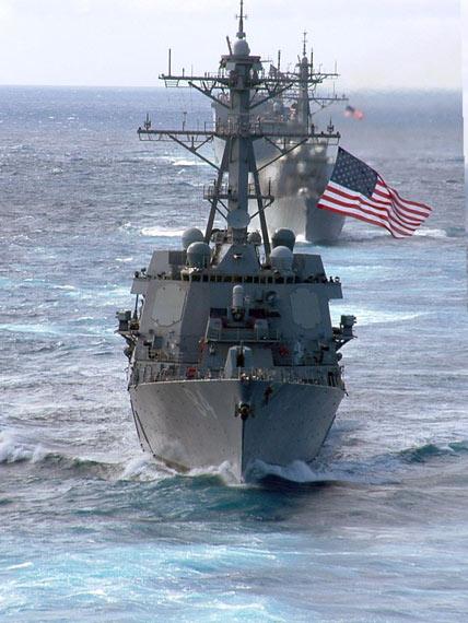 图文:美军将装备总达62艘阿利-伯克级导弹驱逐舰