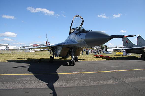 图文:斯洛伐克空军目前有12架米格-29完成升级