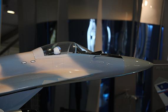 图文:俄米格-29SMT战机机头