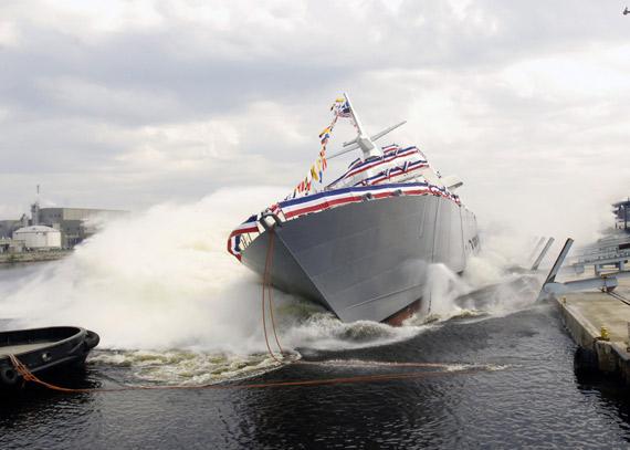 美国DDG1000驱逐舰造价昂贵海军准备放弃建造