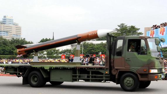 汉光军演解放军一天内摧毁台军全部天弓导弹