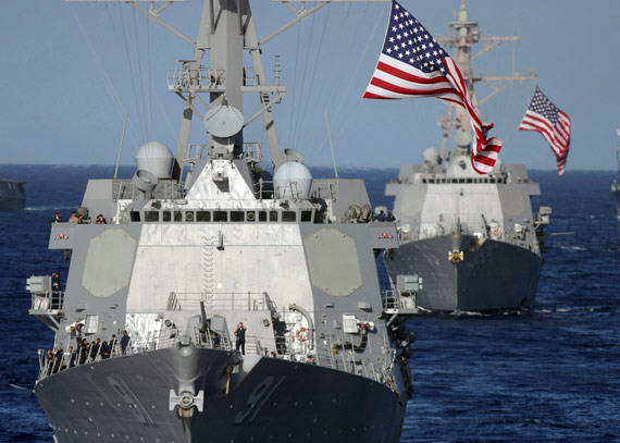 阿利-伯克级战舰是美国海军主力防空战舰