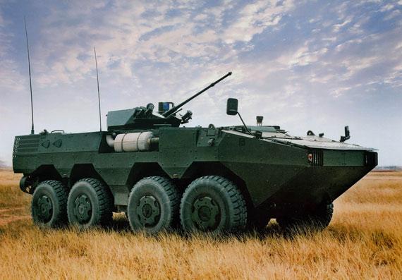 国产VN1型8X8轮式装甲车