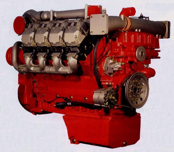 德国道依茨BF8M1015柴油发动机