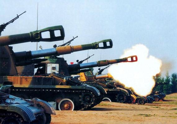 火炮身管等特种零部件需要稀有金属材料加强耐烧蚀性能,提高火炮寿命