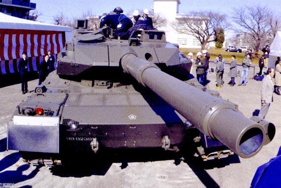 日本国产最新型主战坦克