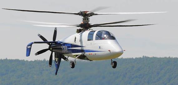 西科斯基公司新型X2高速直升机完成首飞(组图)