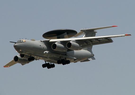 印度购买的3架A-50EI最早是中国于1998年定购。