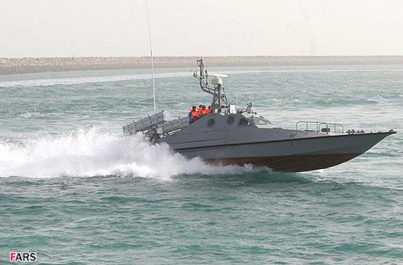 伊朗海军装备有大量高速导弹艇