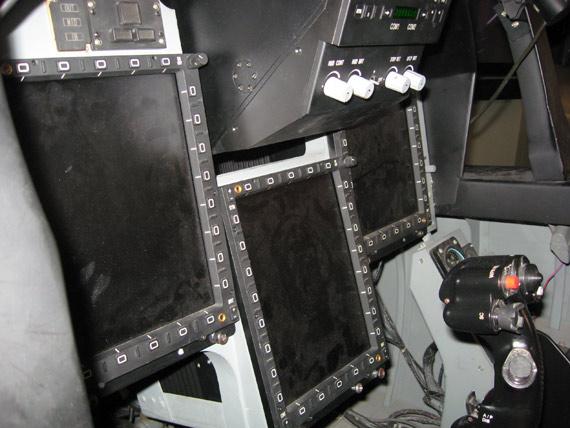 中国枭龙战机座舱 摄影:寒风 未经许可不得转载