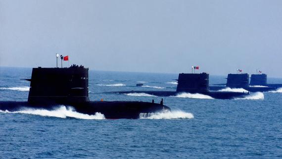 资料图:中国海军039宋级潜艇攻击群