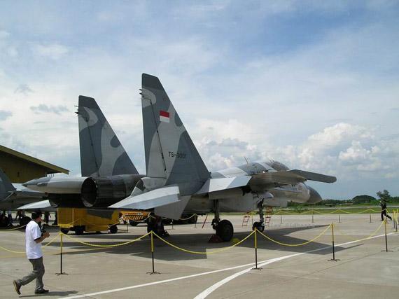 2003年印尼订购了俄制苏-27/30系列战机