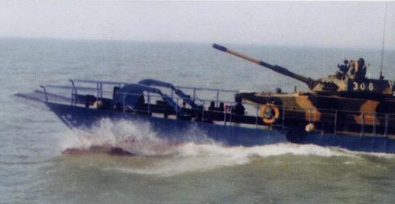中国推出新型海上装甲突击运载平台(组图)