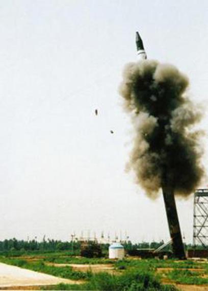 汉和:解放军在河南部署至少10枚DF-31洲际导弹