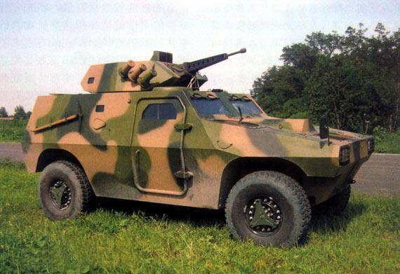 国产VN3轮式轻型装甲车