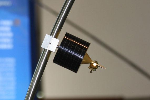 国产新型海洋卫星模型