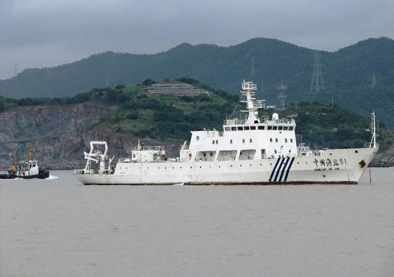 日本海上保安饪腑船企⅘I撞中酜竝船(?