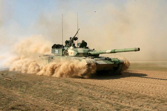中国陆军重型99式主战坦克性能达到世界先进水平