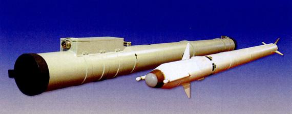 FL-3000N近防系统使用的导弹及发射装具