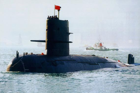资料图:中国海军039改进型宋级潜艇海上巡航