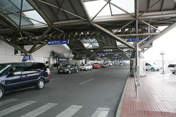 图文:首都机场2号航站楼国内出发