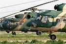 解放军参演的米171米17机群