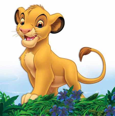 迪士尼卡通形象之狮子王