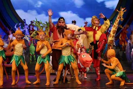 """央视联合中国对外文化集团打造的""""六一""""大型儿童情景剧《梦想乐园》"""